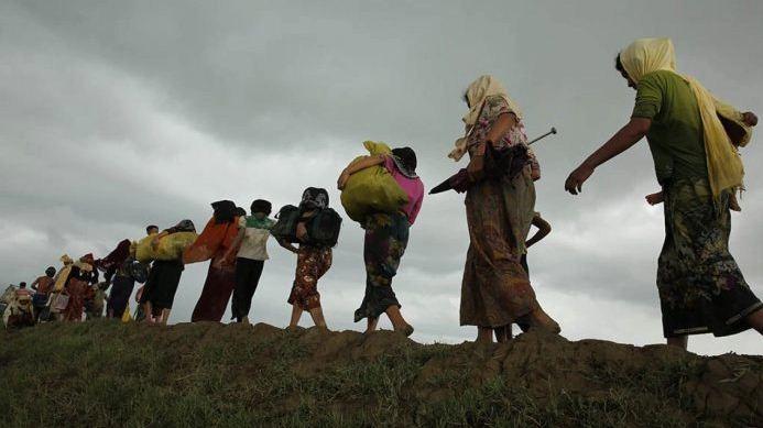 পালিয়ে যাওয়া ১৪ রোহিঙ্গা সন্দ্বীপে আটক