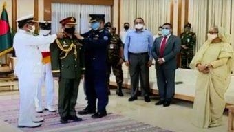 লে :জে: শফিউদ্দিন আহমেদ নতুন সেনাপ্রধানের দায়িত্বগ্রহণ করলেন