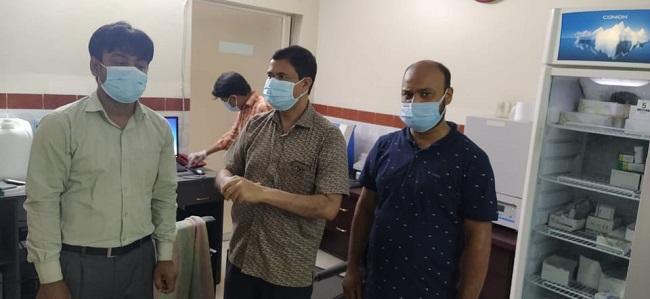 ঝিকরগাছায়৩টি ক্লিনিক সিলগালা করেছে স্বাস্থ্য বিভাগ