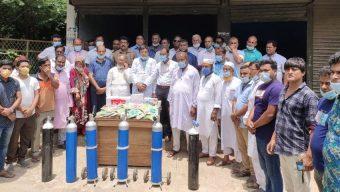 বিএনপির অক্সিজেন সেবা চালু শার্শায়