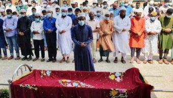 সাংবাদিক মিজানুর রহমান তোতার দাফন সম্পন্ন, শোক প্রস্তাব