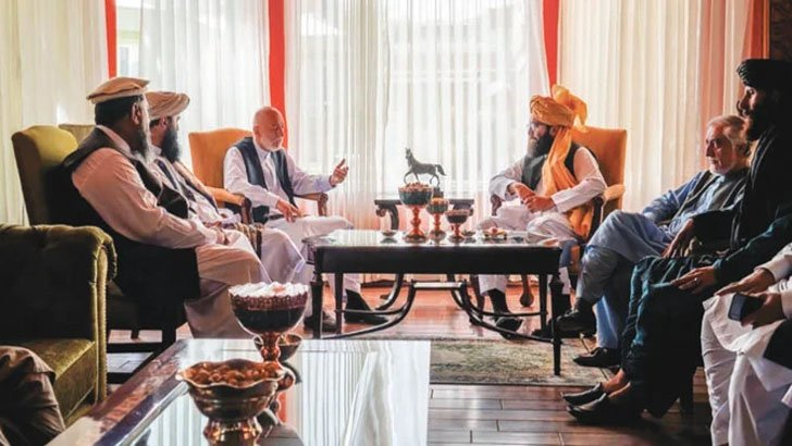 সরকার গঠন নিয়ে হামিদ কারজাইয়ের সঙ্গে তালেবানের আলোচনা