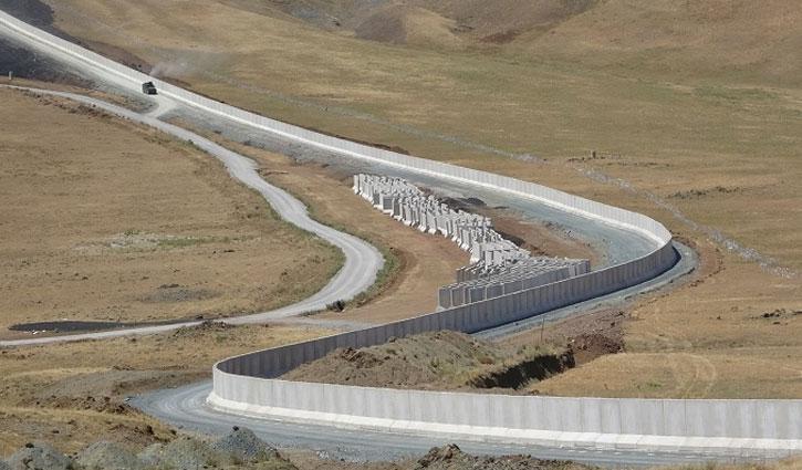 আফগানদের দূরে রাখতে ইরান সীমান্তে দেয়াল নির্মাণ তুরস্কের