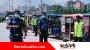 সিলেট-ঢাকা মহাসড়কেকঠোর অবস্থানে হাইওয়ে পুলিশ, অবৈধ যানবাহন আটক