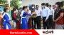 শিক্ষার্থীদের গোলাপ- চকলেট দিয়ে বিদ্যালয়ে স্বাগত জানালেন শিক্ষকরা